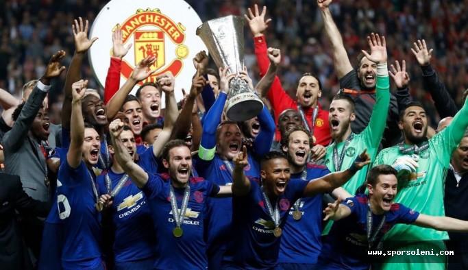 Manchester United, UEFA Avrupa Ligi'nde şampiyon oldu!
