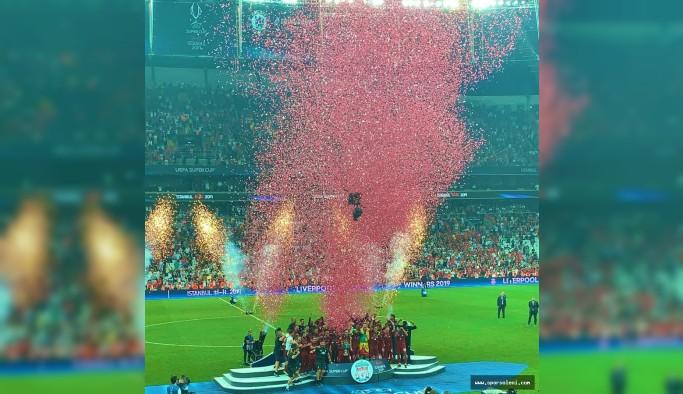 UEFA Süper Kupa'nın sahibi Liverpool oldu!