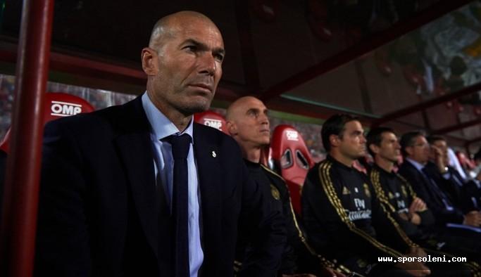 """Zidane: """"Endişeli olduğumu söylemeyeceğim, ama ..."""""""