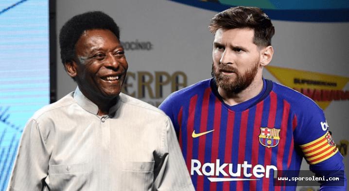 Pele, Lionel Messi'yi Dünyanın En Komple Oyuncusu Olarak Belirledi