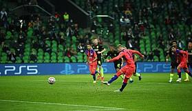 Şampiyonlar Ligi maçını izledi, bu maçın grup aşamasında şimdiye kadarki en yüksek sayı ve 10.500 Çarşamba günü Chelsea ile Krasnodar maçındaydı.
