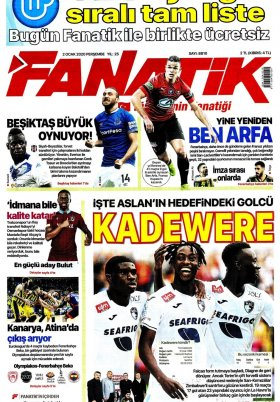 Spor Şöleni - 02.01.2020 Gazete Manşeti