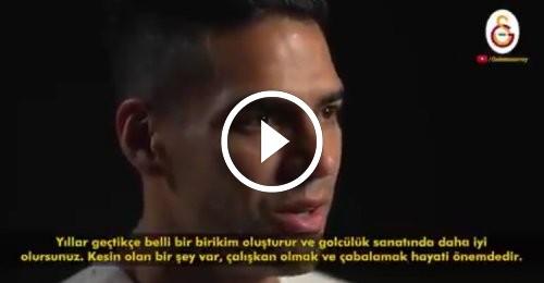 Radamel Falcao UEFA'ya özel açıklamalarda bulundu.