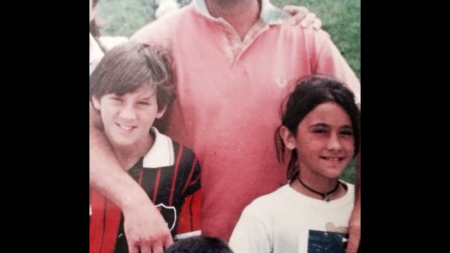 Messi ve Antonella Rocuzzo Çocukluk Aşkı