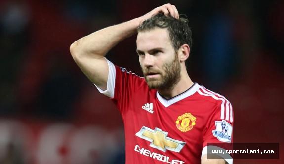 Manchester United Mata'nın Sakatlığıyla Uğraşıyor