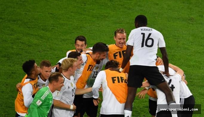 Konfederasyon Kupası Almanya'nın...