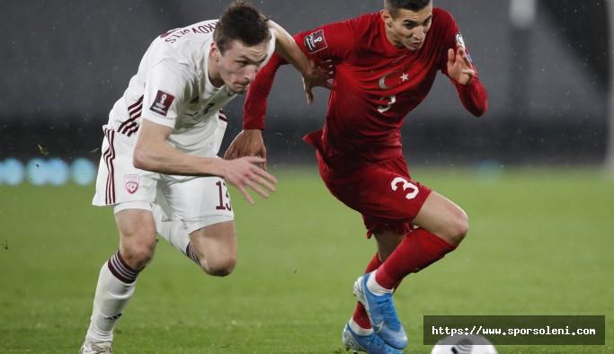 A Milli Takım Letonya'yla 3-3 Berabere Kaldı (Dünya Kupası Grup Maçları)